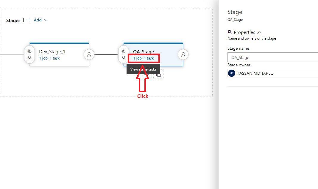 Azure DevOps - Cloning release pipeline stage Step 3